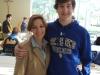 Christian Rabalais with his mom