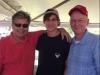Ricky Romano, ('72), Julian Rodrigue, III (2018), & Coach Cam Degravelle